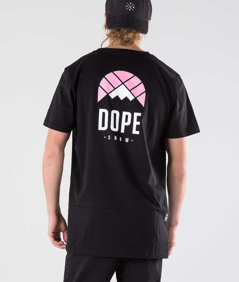 Dope Retro T-shirt Black