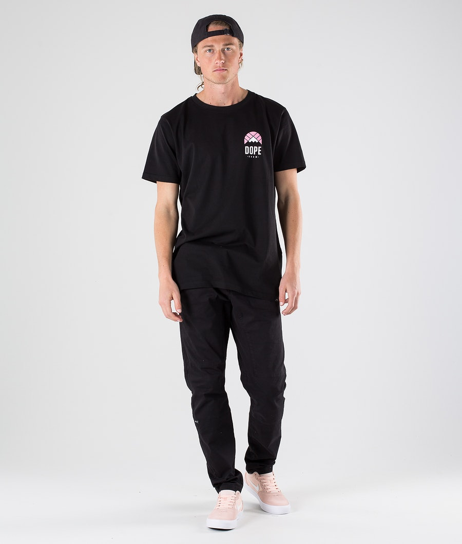Dope Retro T-shirt Black