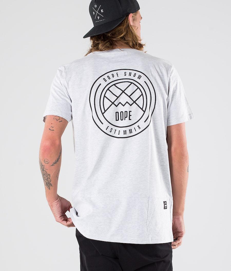 Dope Lines T-shirt Greymelange