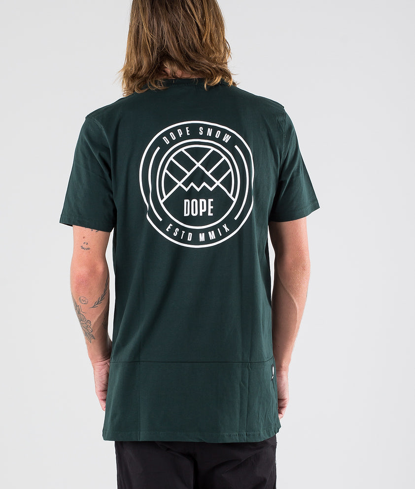 Dope Lines T-shirt Royal Green
