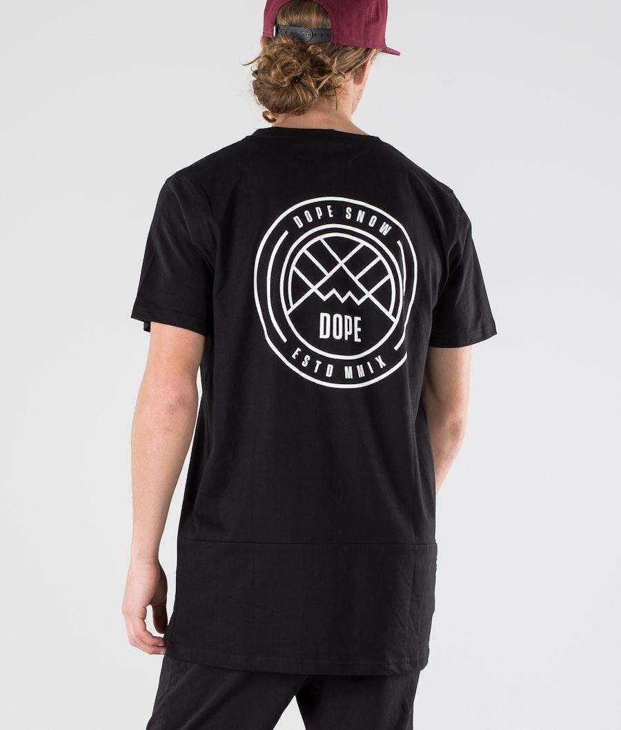 Dope Lines T-shirt Black