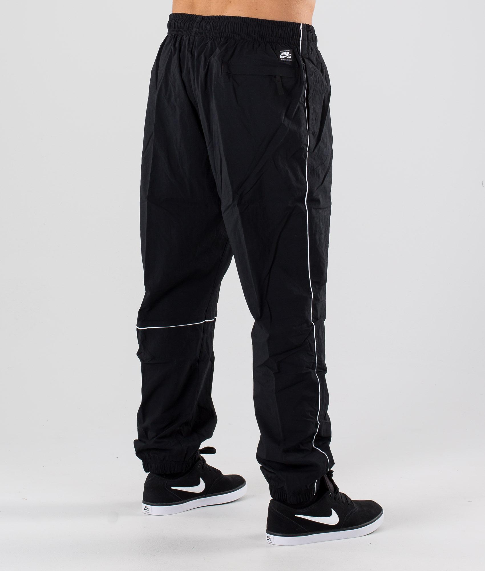 Nike SB Pant Track Swoosh Pants Black
