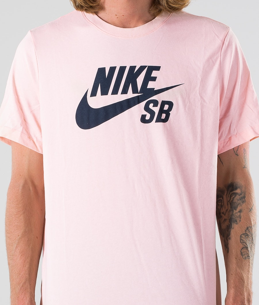 Nike SB Dry Tee Dfct Logo T-shirt Washed Coral/Obsidian