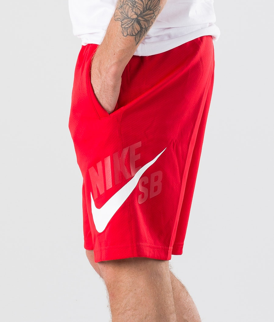 Nike SB Dry Hbr Sunday Short Shorts University Red/White
