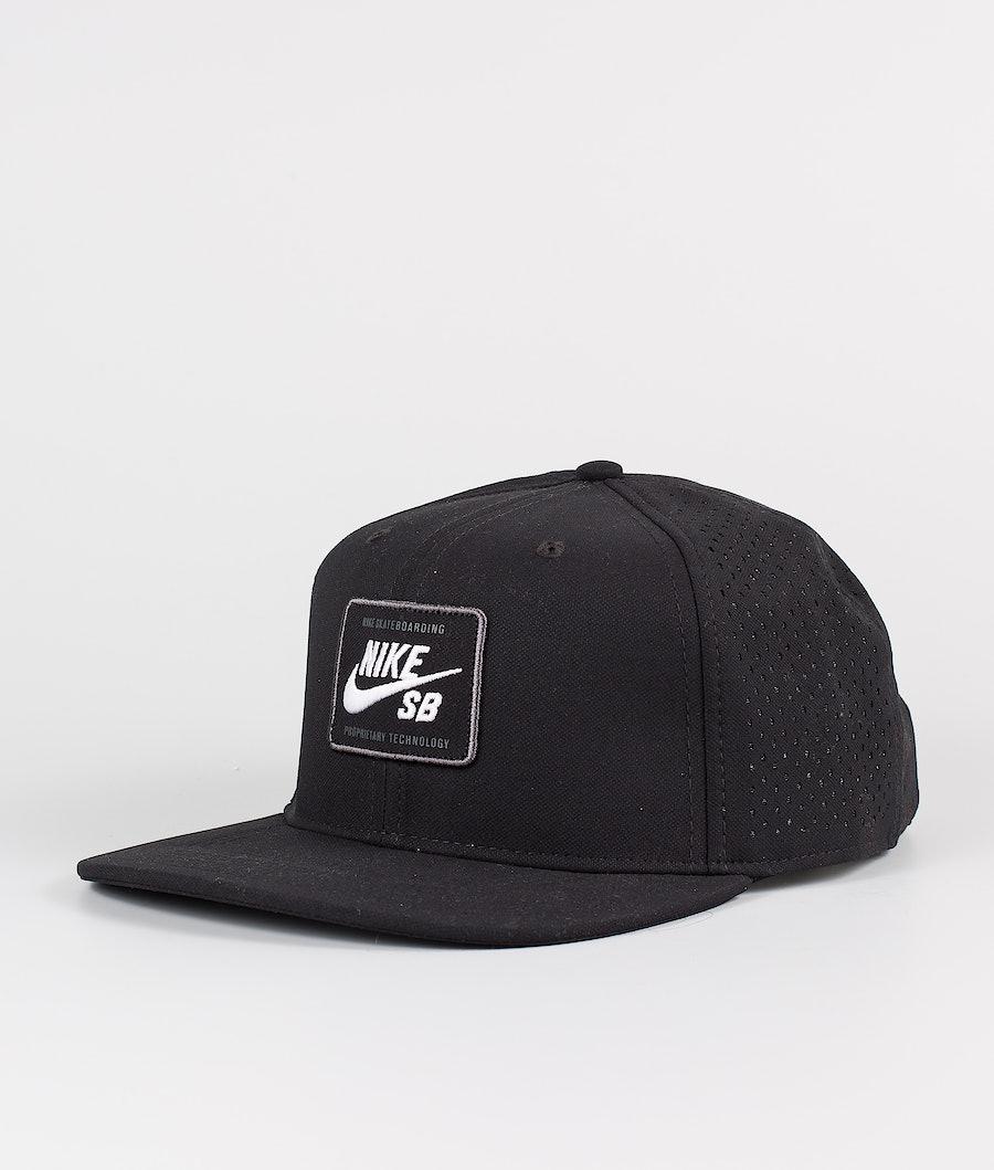 Nike Arobill Pro Cap 2.0 Lippis Black/White