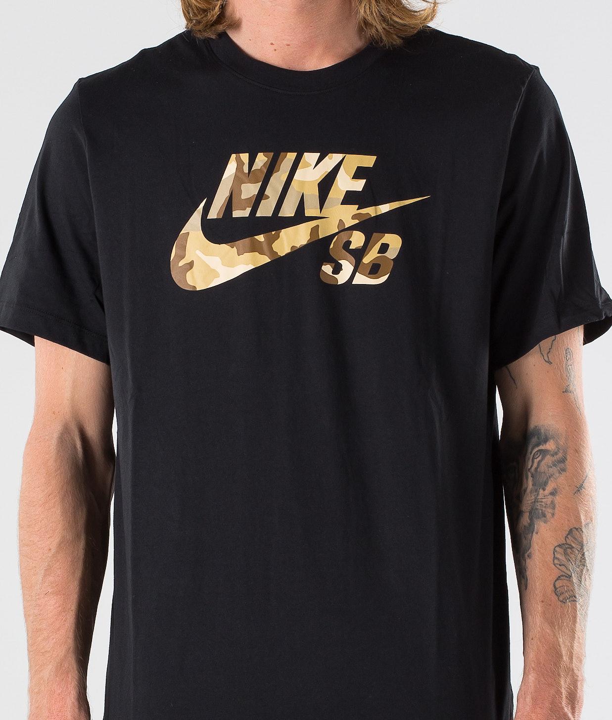 aa9fc34aec9e Nike SB Logo Snsl 2 T-shirt Black - Ridestore.com