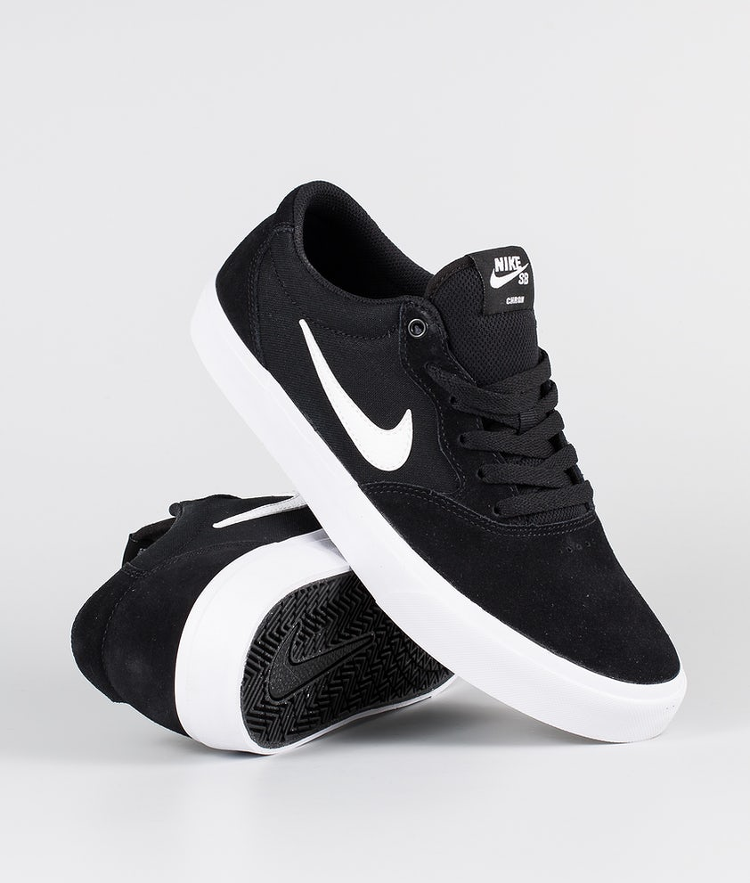 Nike SB Chron SLR Sko Black/White