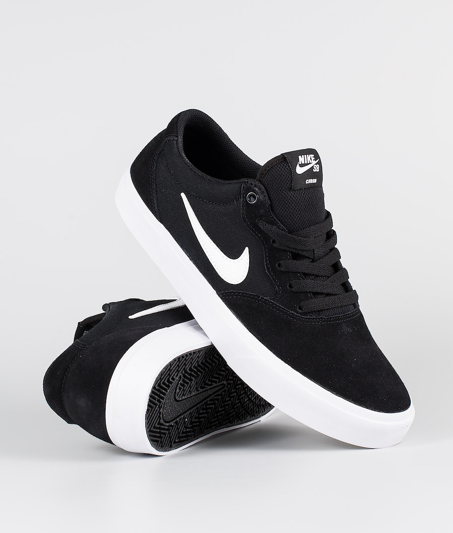 Nike SB Chron SLR Shoes Black/White