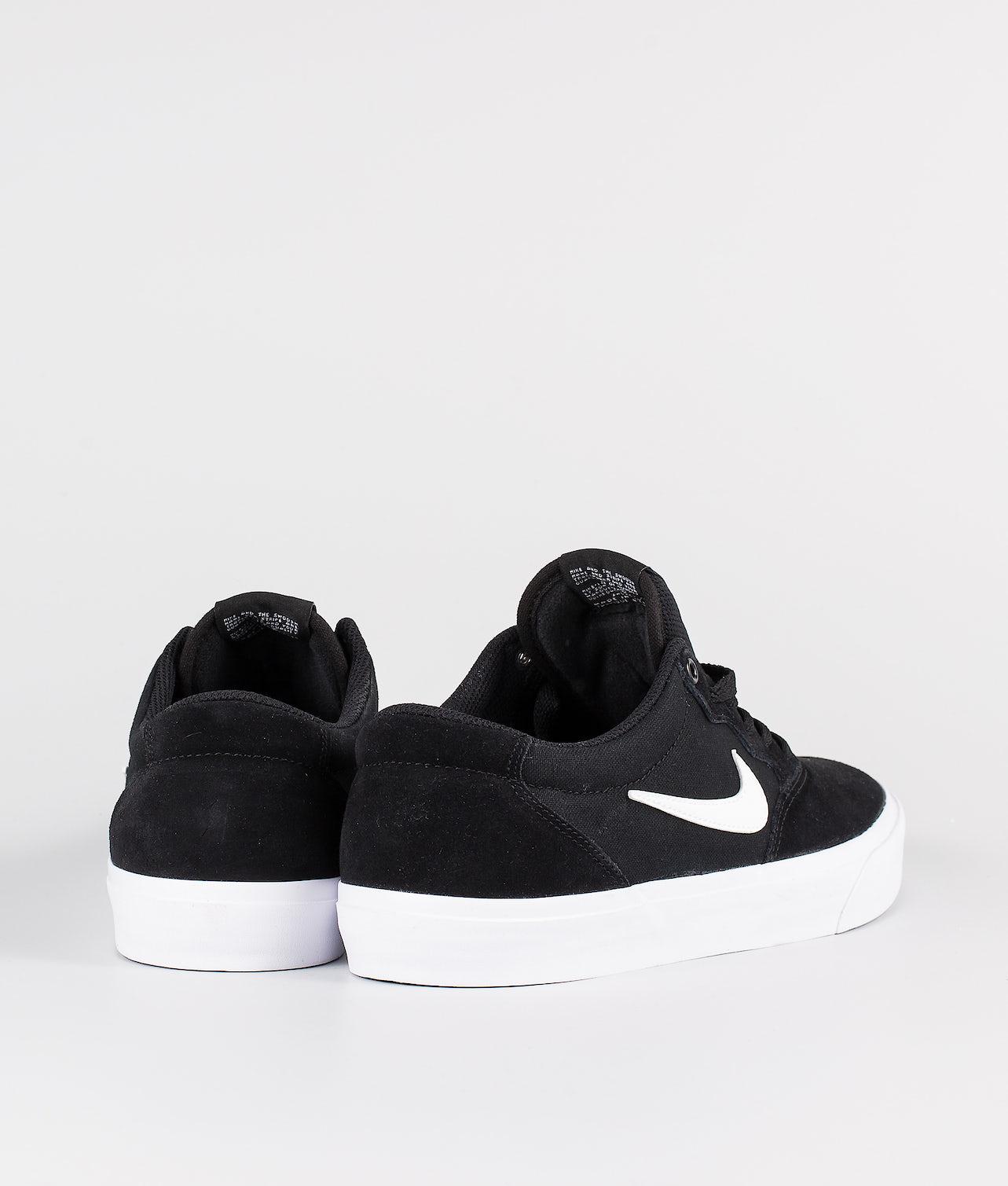 Nike SB Chron SLR Sko Black/White