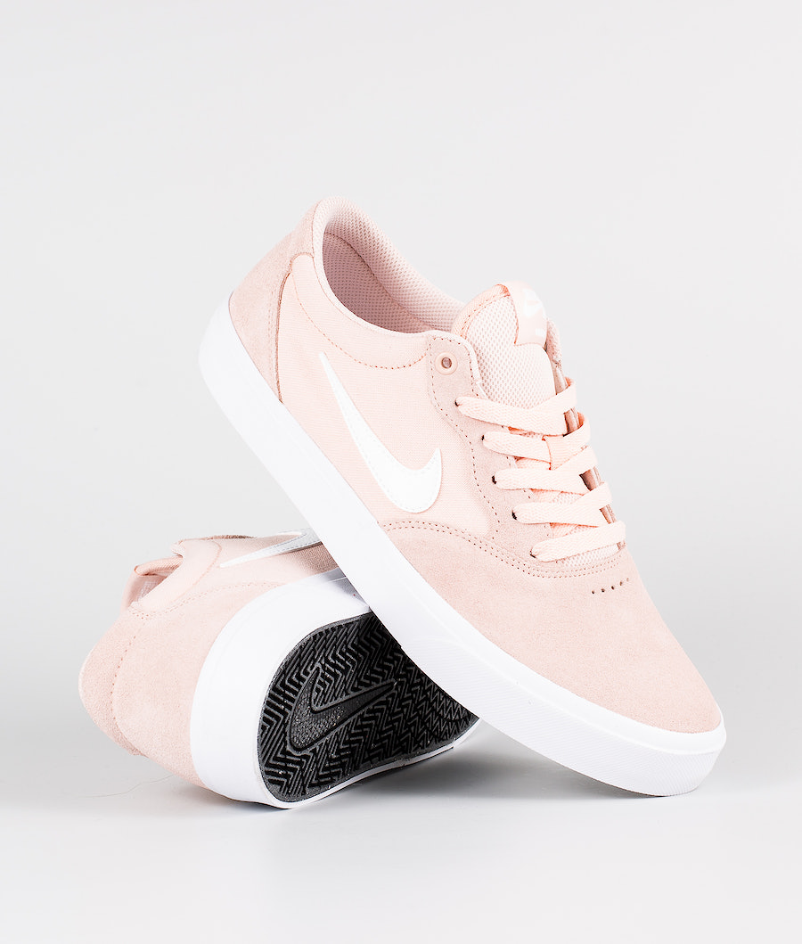 Nike SB Chron SLR Shoes Washed Coral/White-Washed Coral