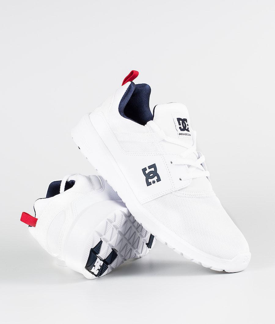 DC Heathrow Shoes White/Navy