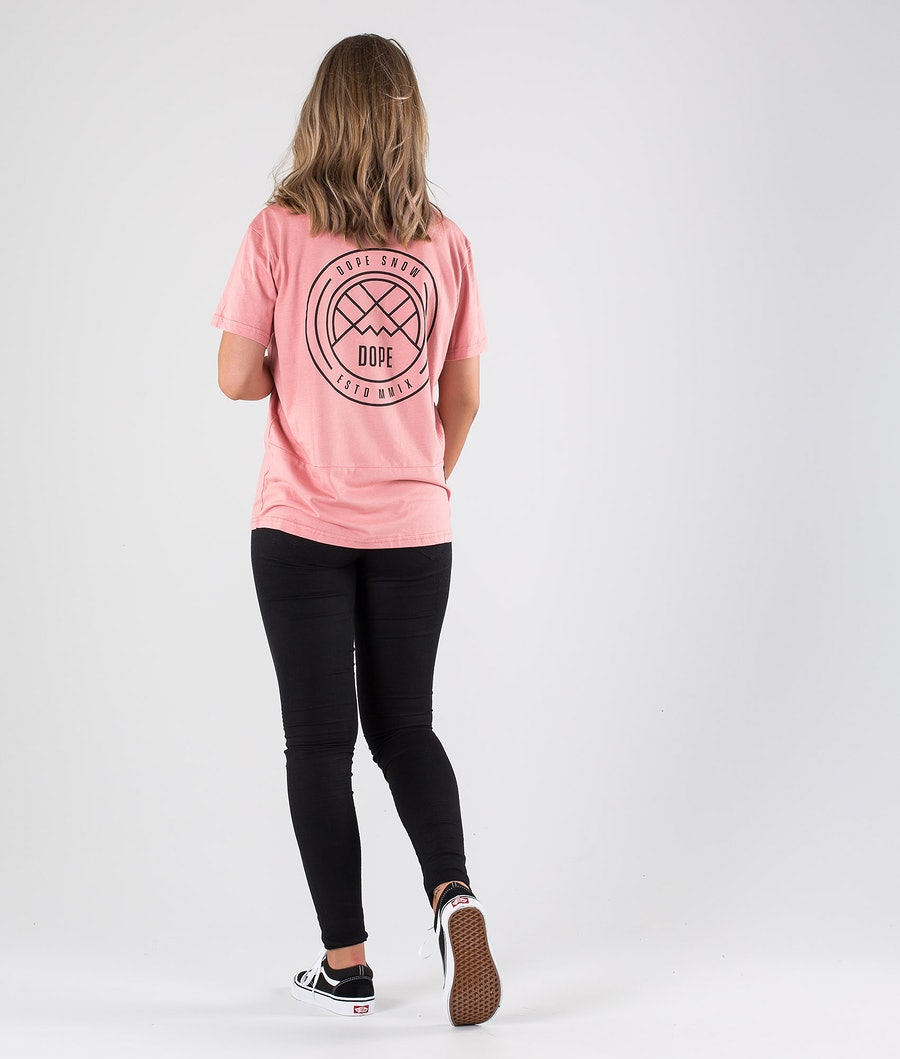 Dope Grand Lines T-shirt Dame Softpink