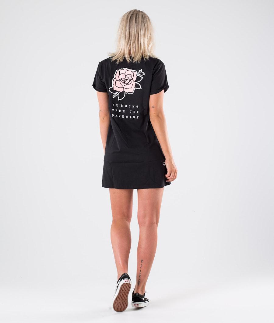 Dope Rose Dress Kleid Black