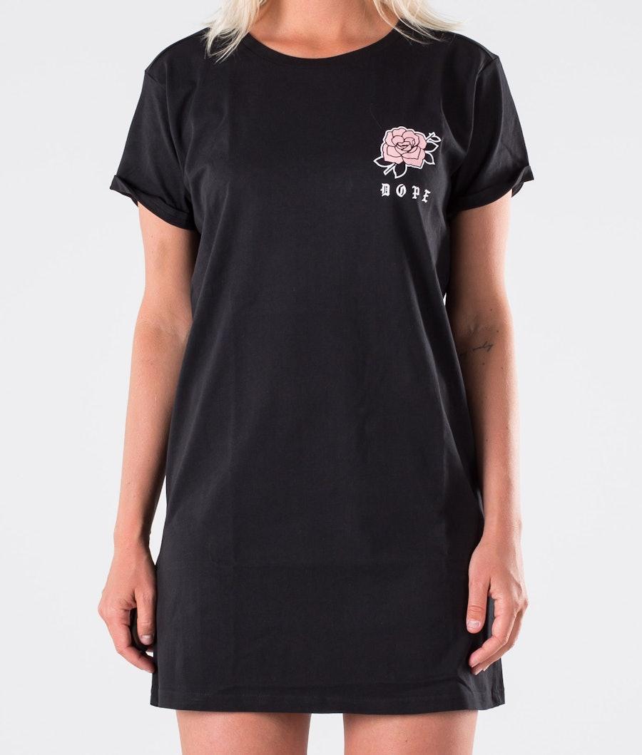 Dope Rose Dress Kjole Dame Black