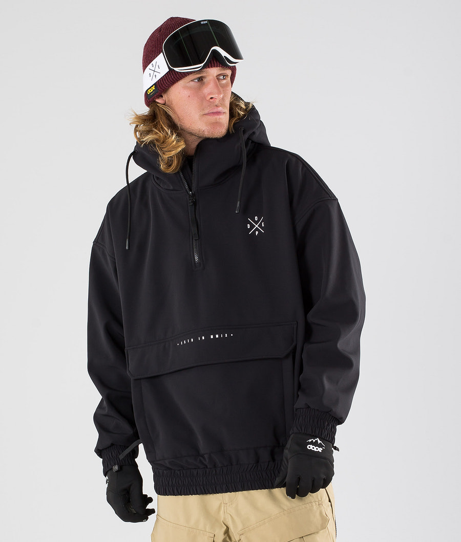 Dope Cyclone Snowboard Jacket Black