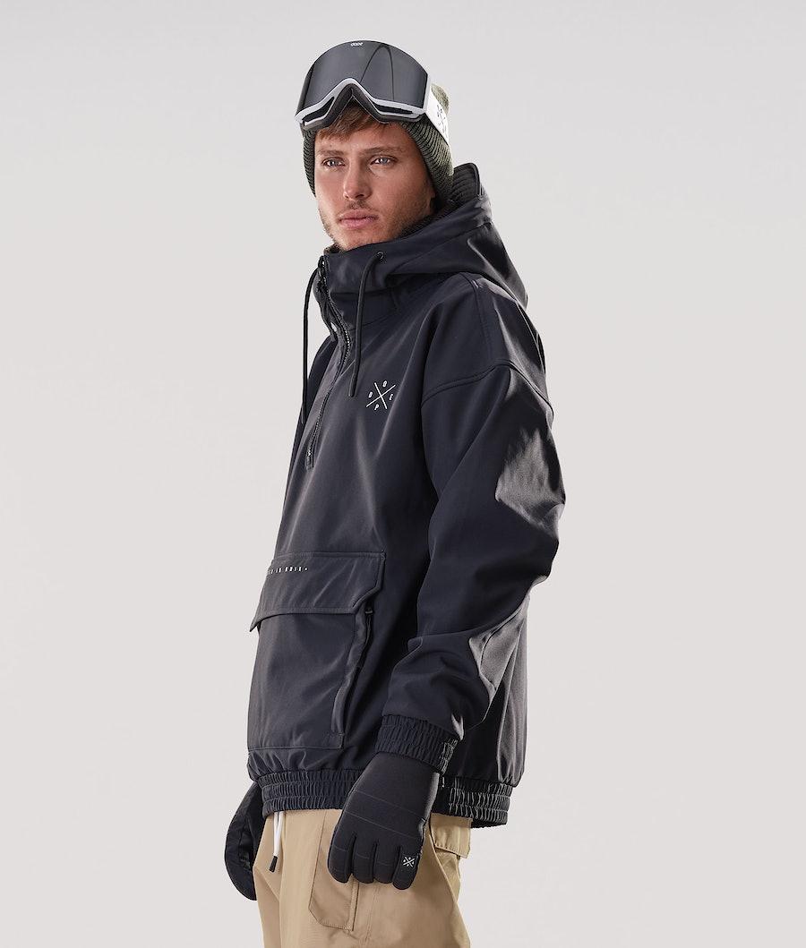 Dope Cyclone Giacca da Snowboard Black