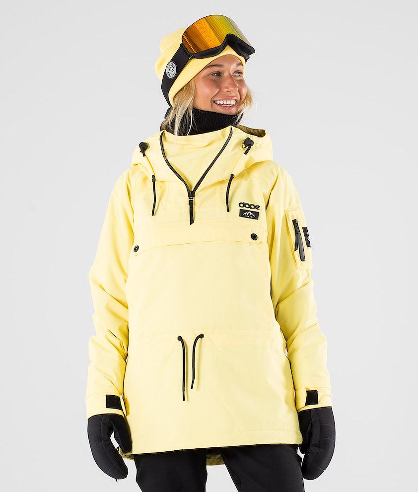 Dope Annok W Snowboard Jacket Yellow
