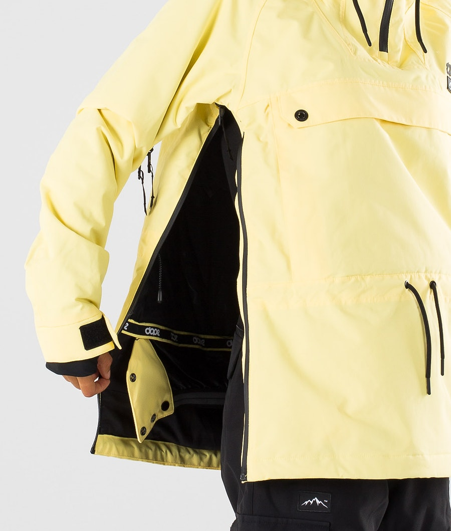 Dope Annok W Women's Snowboard Jacket Yellow