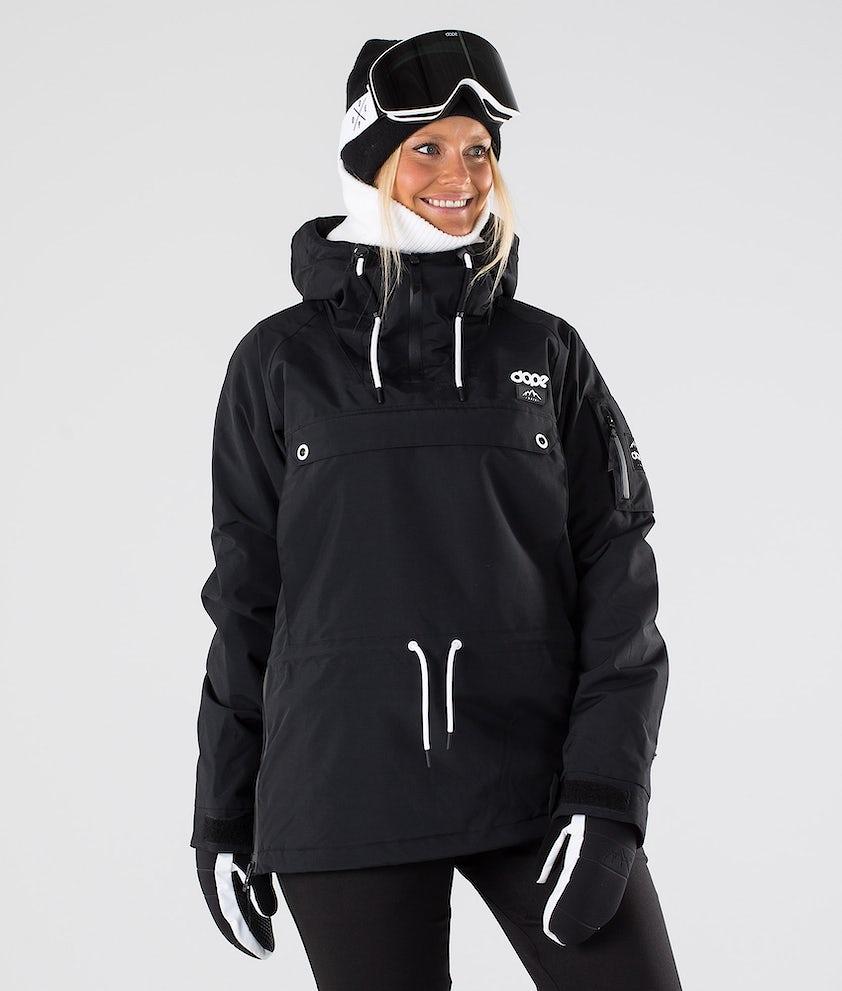Dope Annok W Snowboardjakke Black