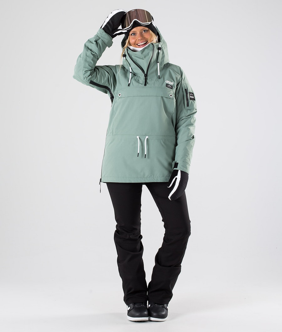 Dope Annok W Women's Snowboard Jacket Faded Green