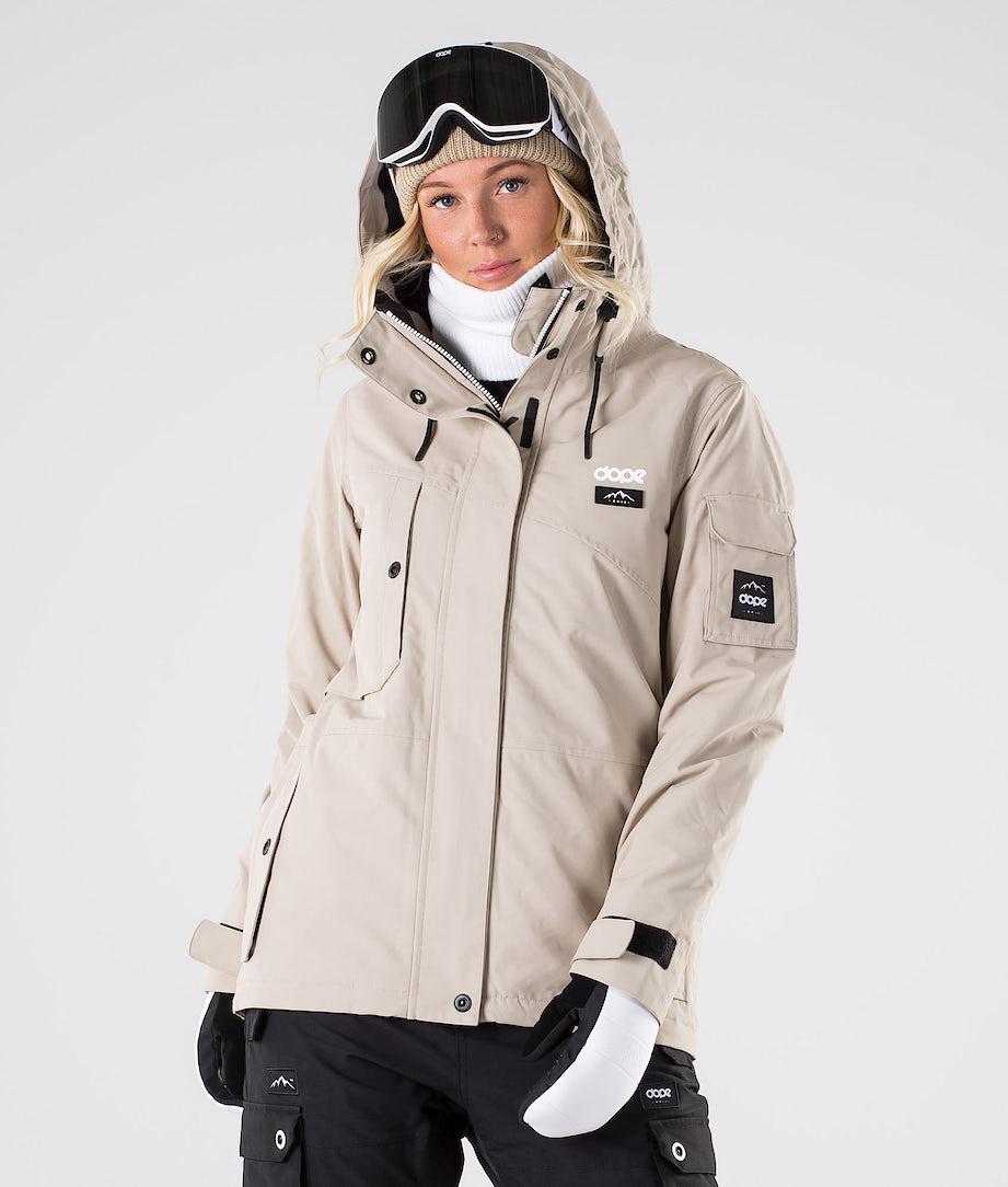 Dope Adept W Snowboard Jacket Sand