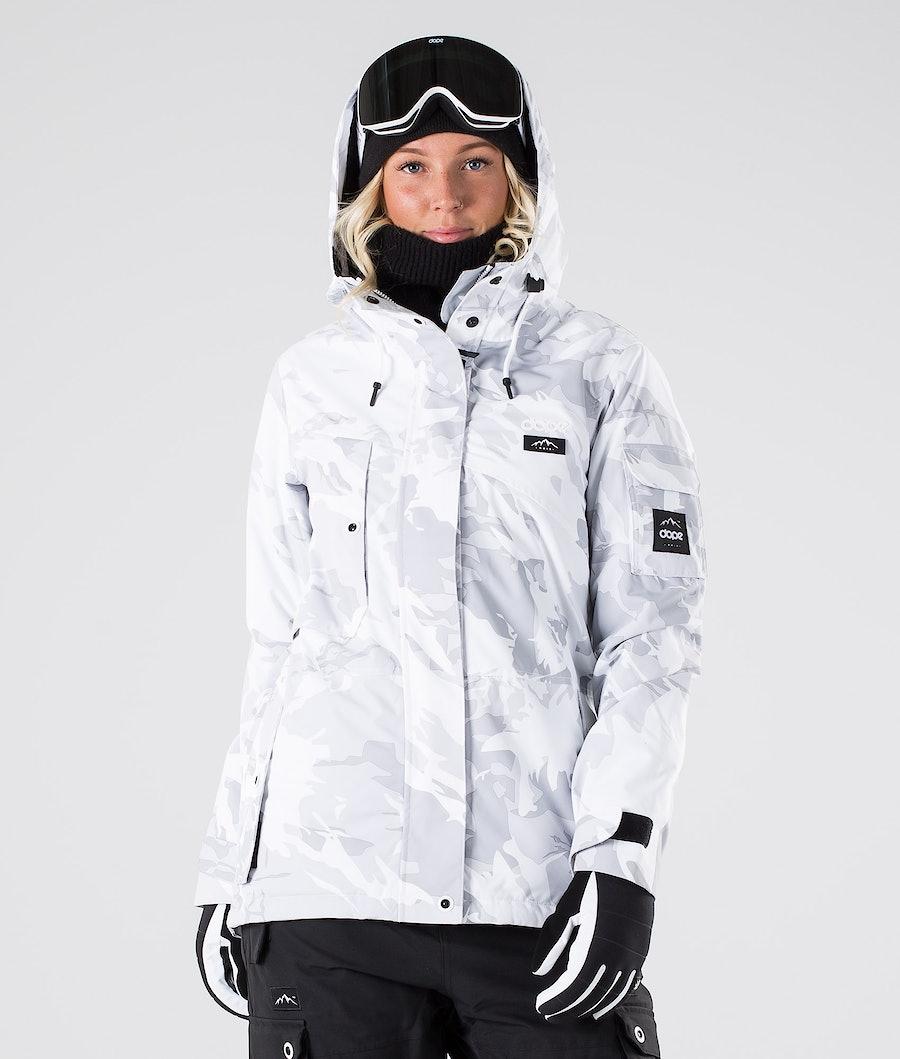 Dope Adept W Snowboard Jacket Tux Camo