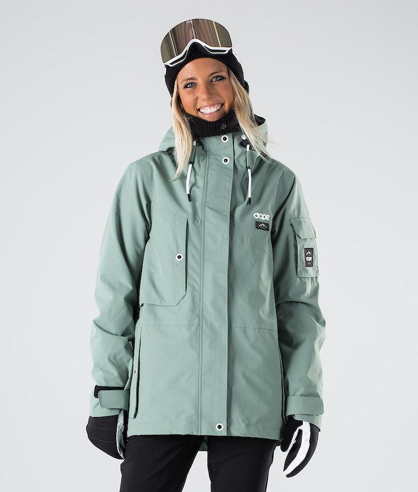 Dope Adept W Snowboardjakke Faded Green