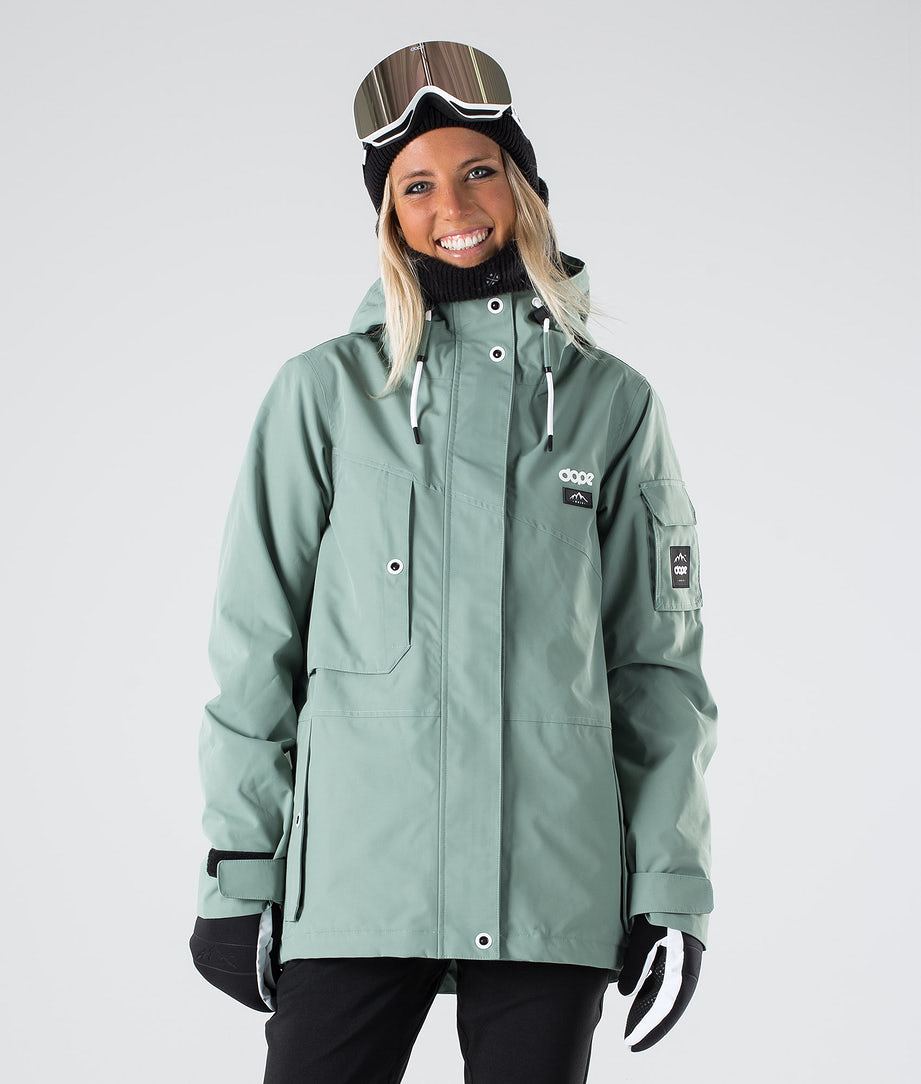 Dope Adept W Snowboard Jacket Faded Green