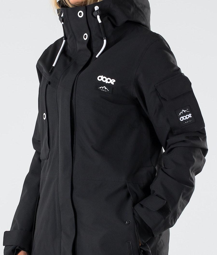 Dope Adept W Snowboardjakke Dame Black