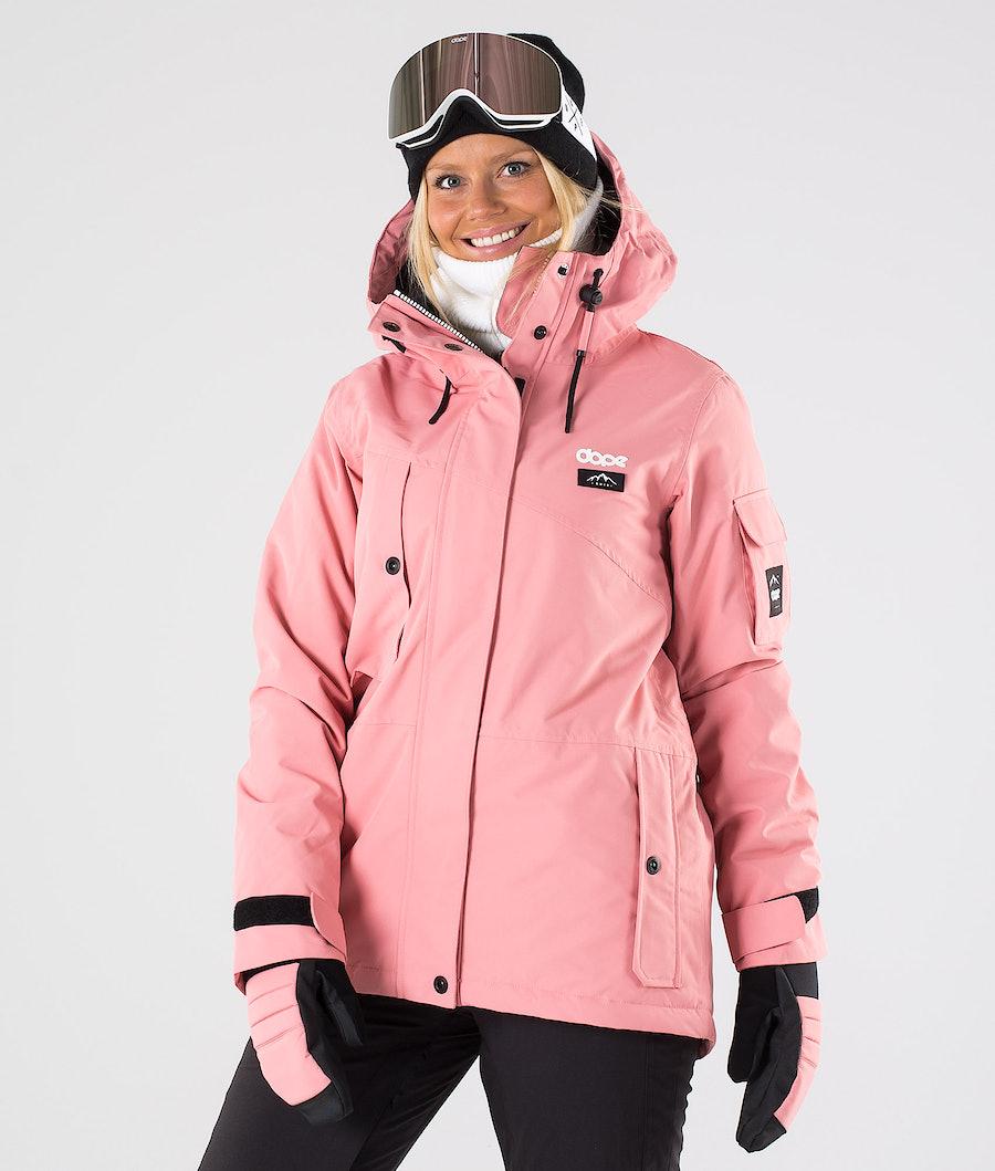 Dope Adept W Snowboardjakke Pink
