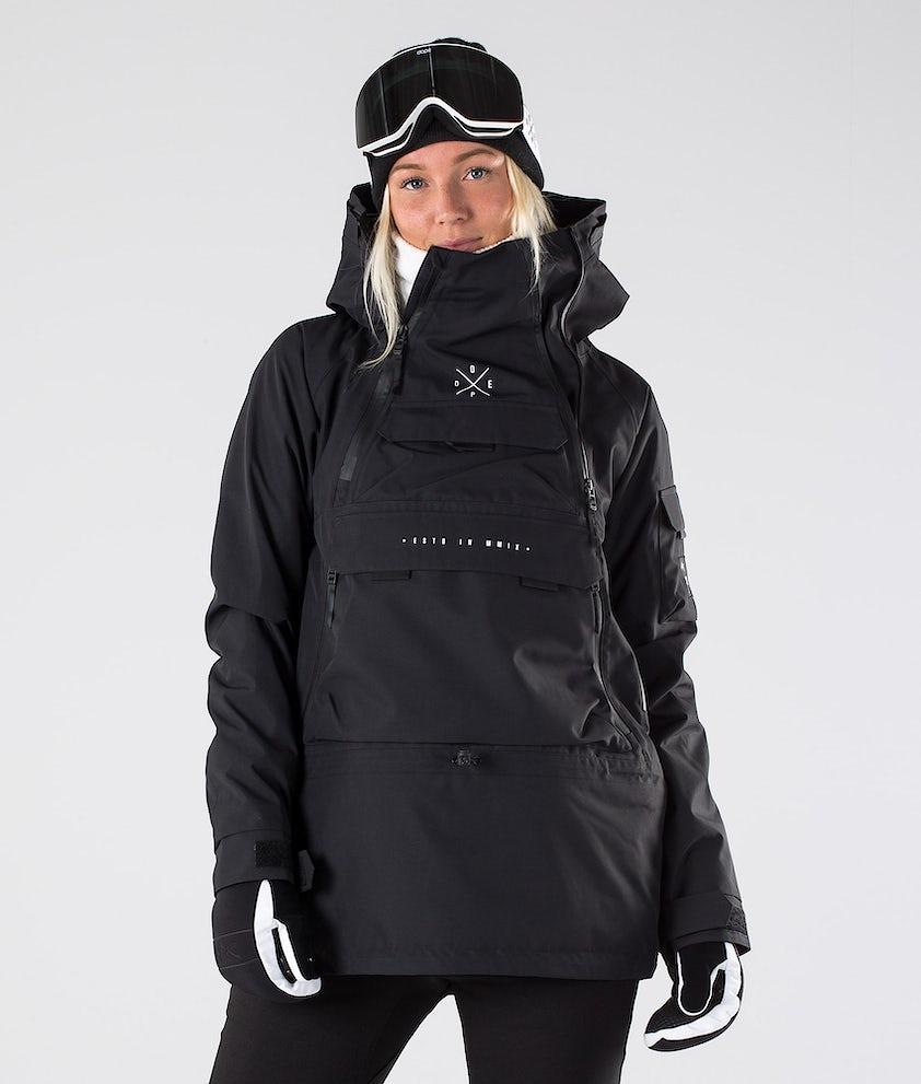 Dope Akin W Snowboardjakke Black