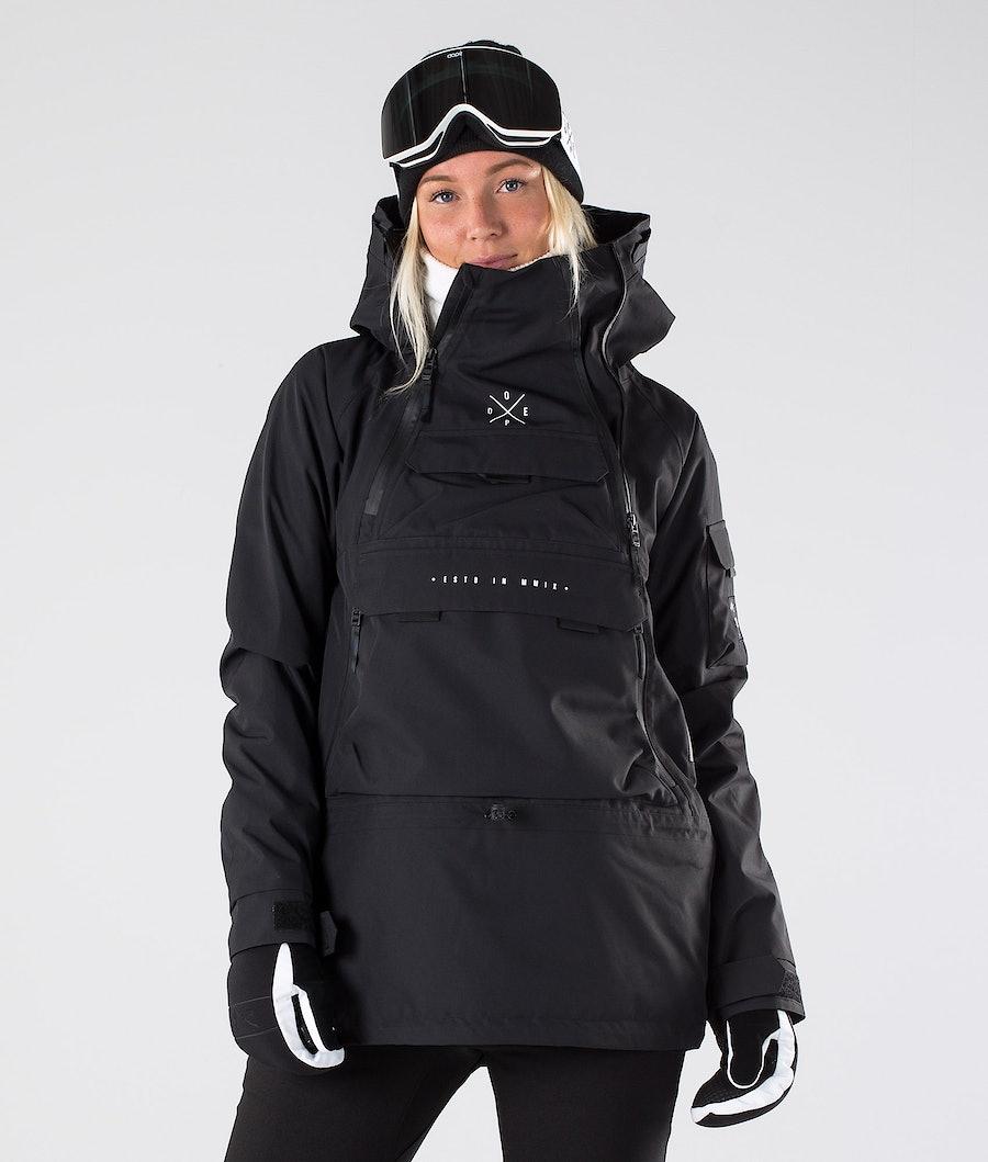 Dope Akin W Snowboard jas Black
