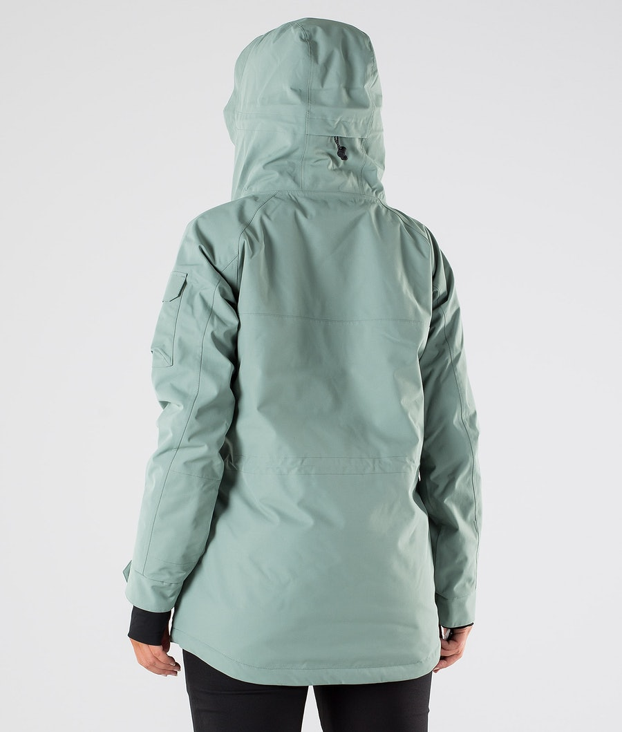 Dope Akin W Snowboardjacke Damen Faded Green