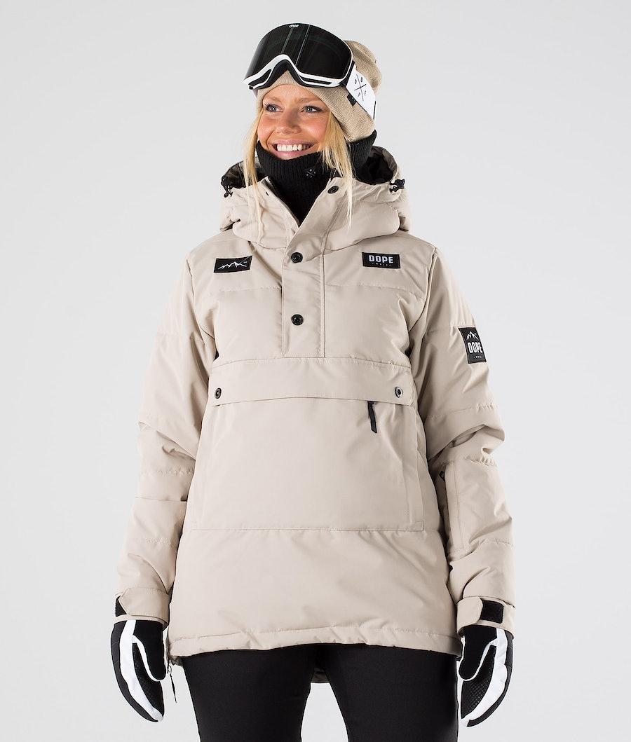 Dope Puffer W Snowboard Jacket Sand