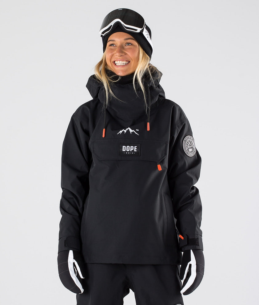Dope Blizzard W Snowboard Jacket Black