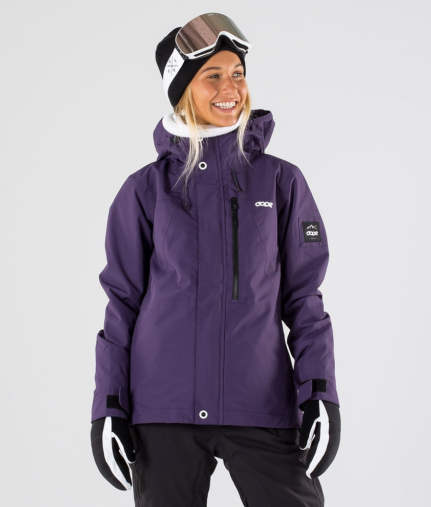 Dope Divine Snowboard Jacket Grape