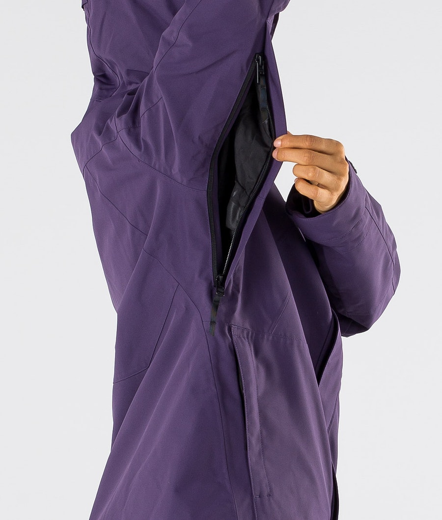 Dope Divine Women's Snowboard Jacket Grape