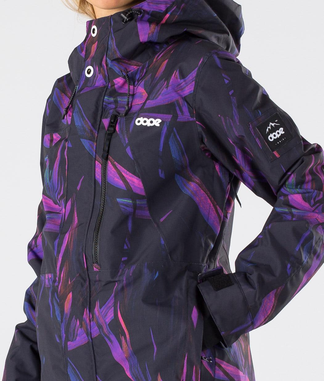 Dope Divine Snowboardjacka Purple Foliage
