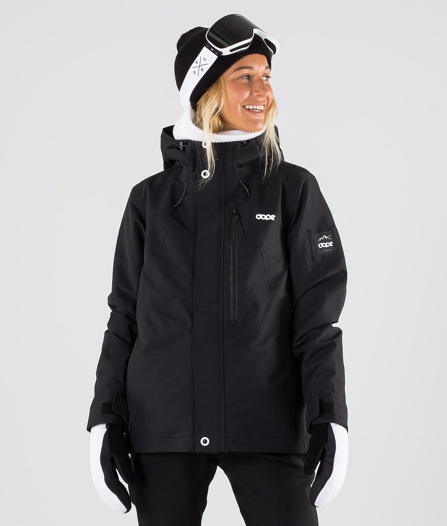 Dope Divine Snowboardjakke Black