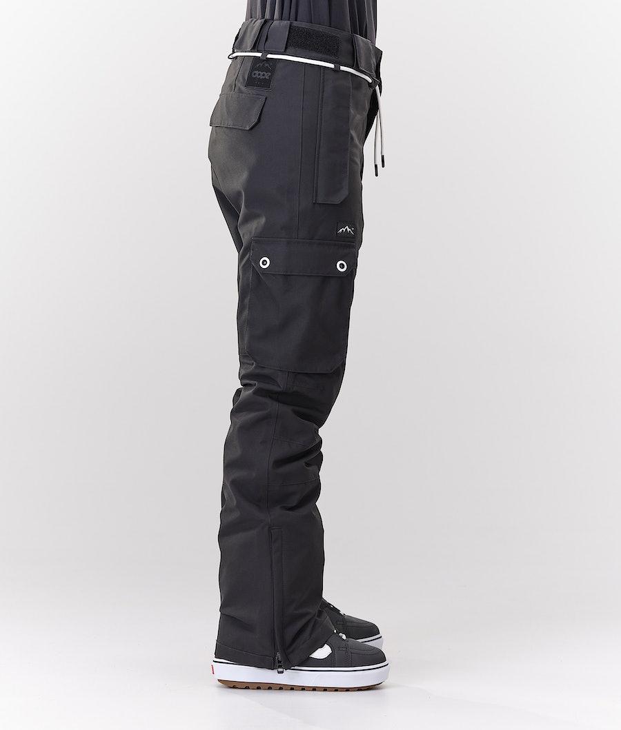 Dope Iconic W Pantaloni da Snowboard Donna Black
