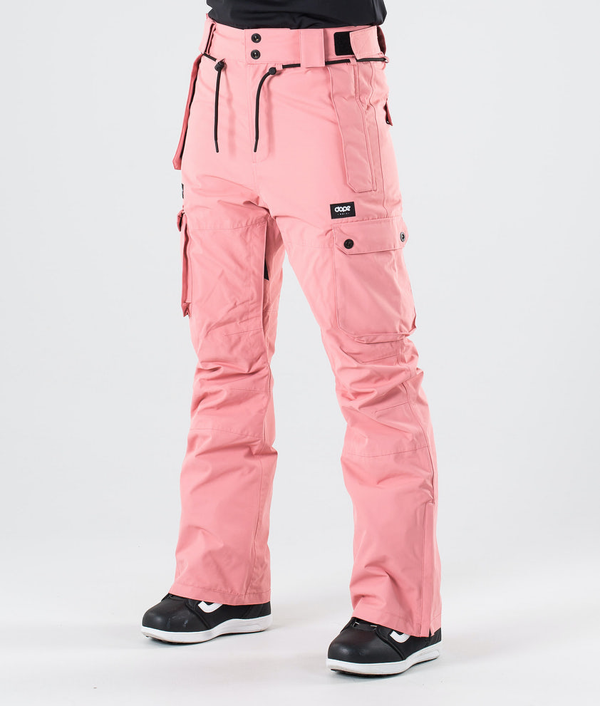 Dope Iconic W Snow Pants Pink