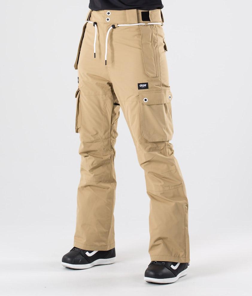 Dope Iconic W Snow Pants Khaki