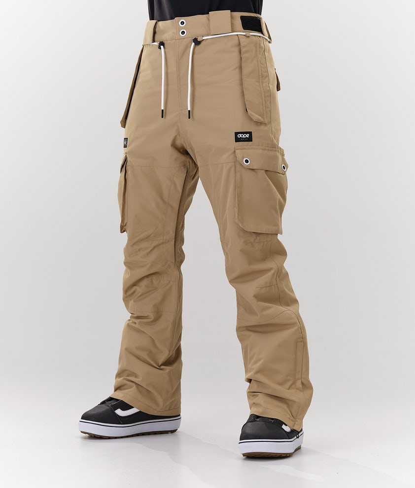 Dope Iconic W Snow Pants Khaki