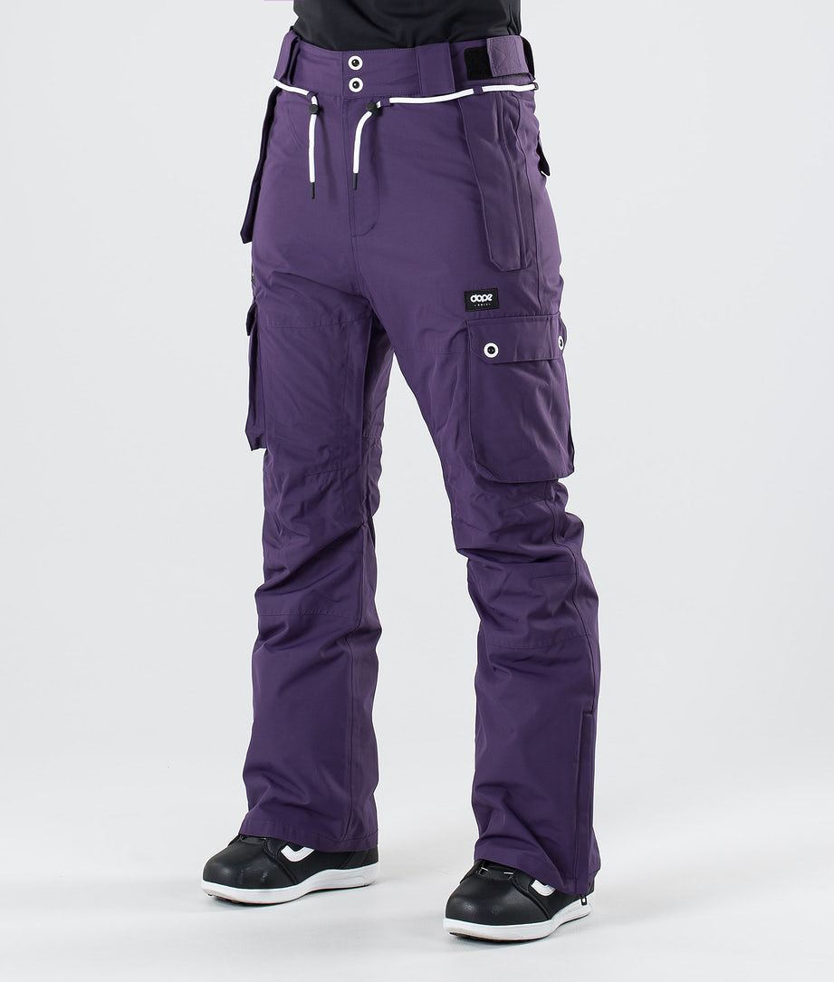 Dope Iconic W Snow Pants Grape
