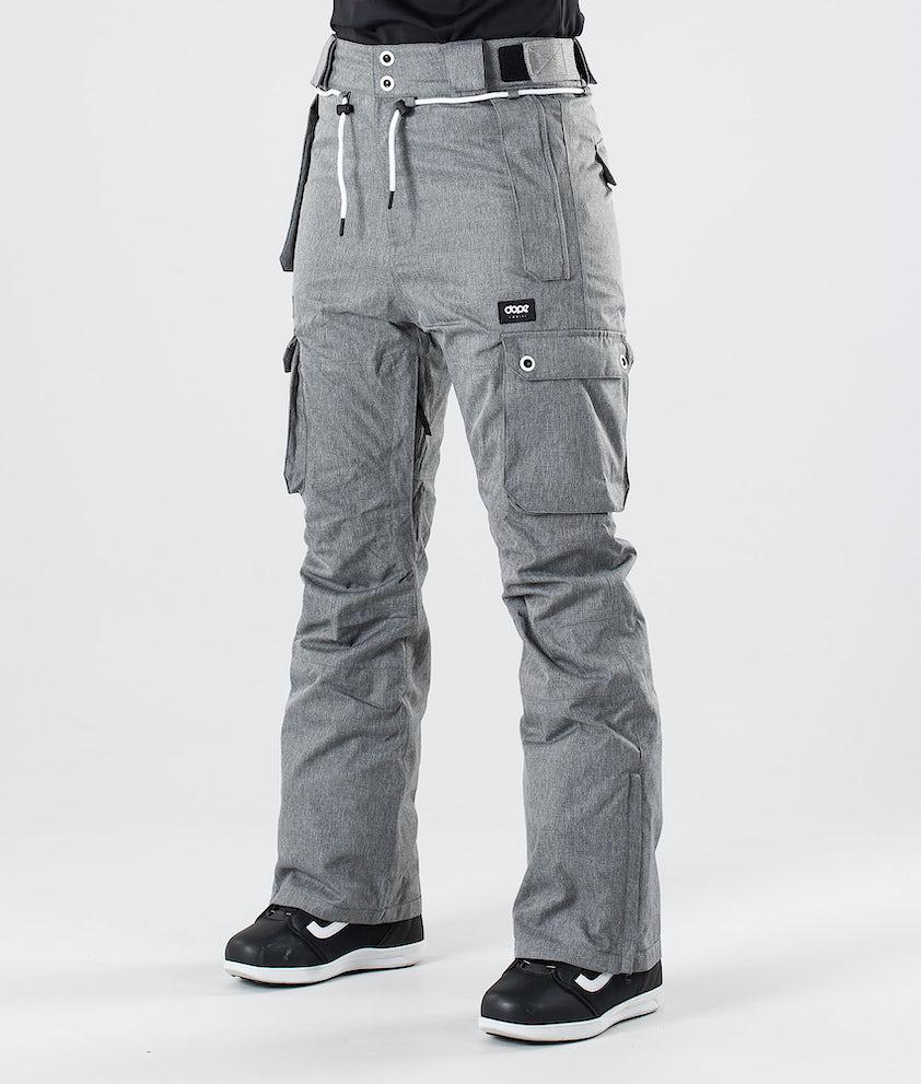 Dope Iconic W Pantalon de Snowboard Grey Melange
