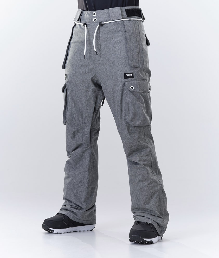 Dope Iconic W Snow Pants Grey Melange