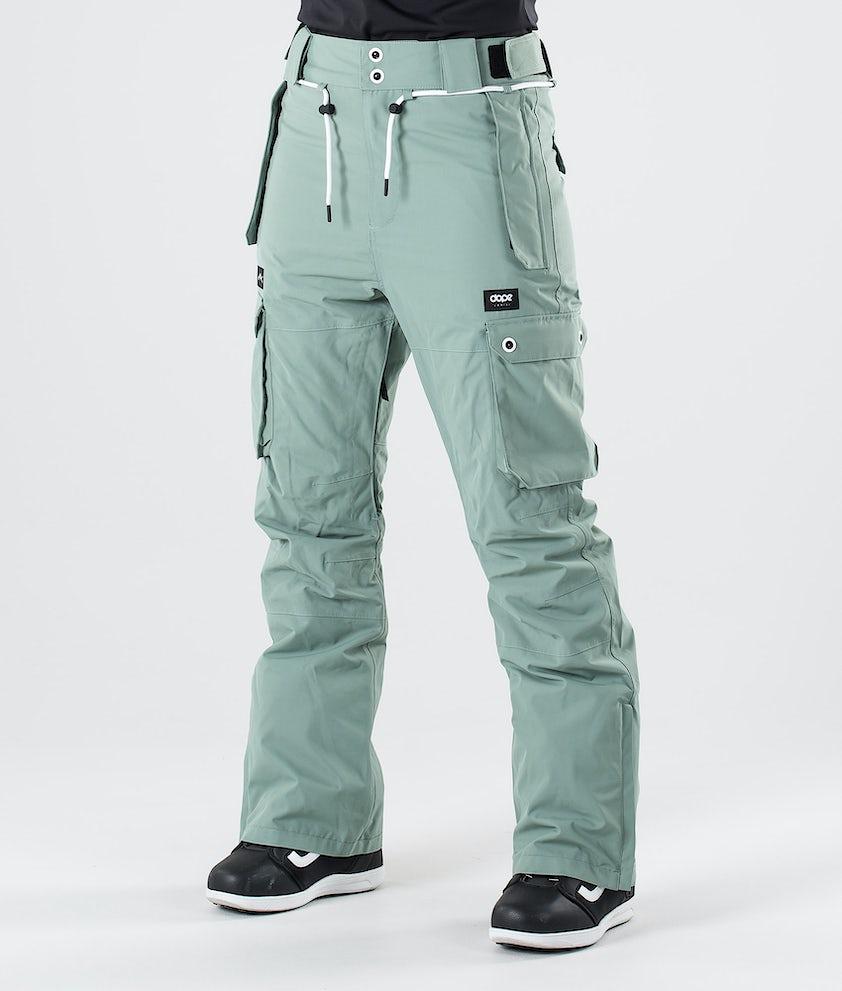 Dope Iconic W Snowboardbyxa Faded Green