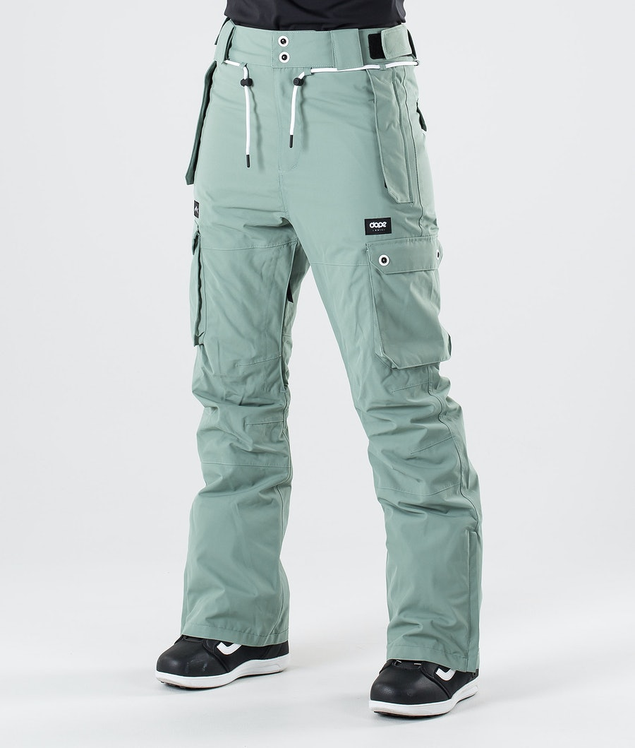 Dope Iconic W Snow Pants Faded Green