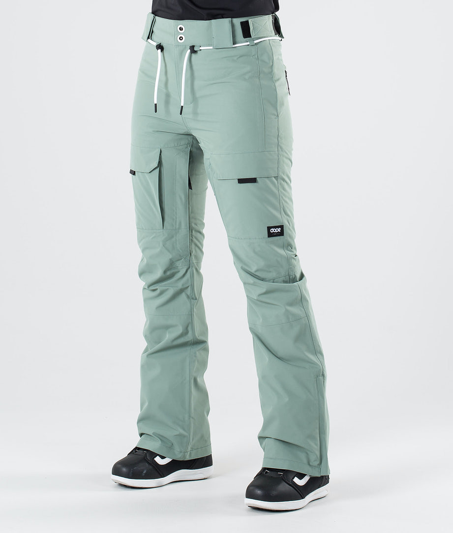 Dope Grace Snow Pants Faded Green