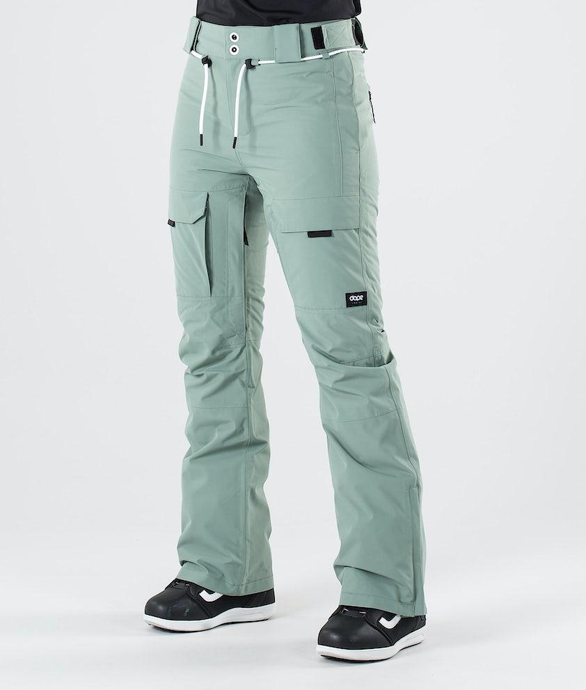 Dope Grace Snowboardbyxa Faded Green